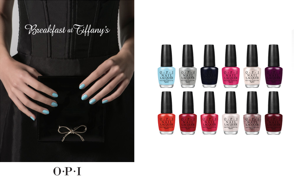 Breakfast at Tiffany's Collection by OPI