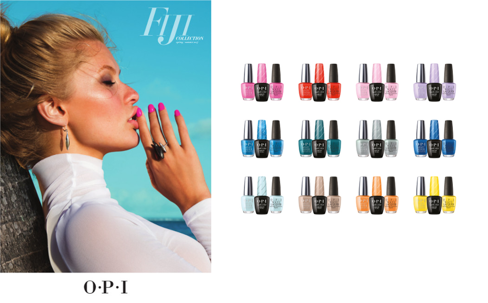 Fiji Spring-Summer 2017 Collection by OPI