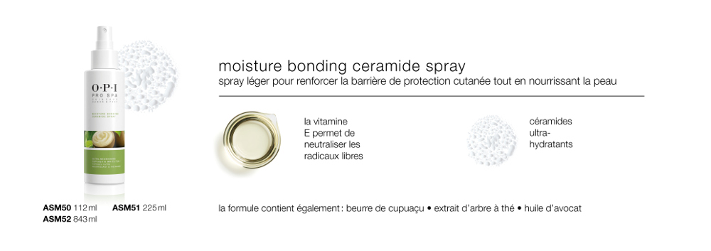 Moisture Bonding<br/>Ceramide Spray